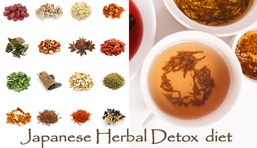 traditional Japanese kampo medicine herbal detox diet loose leaf tea