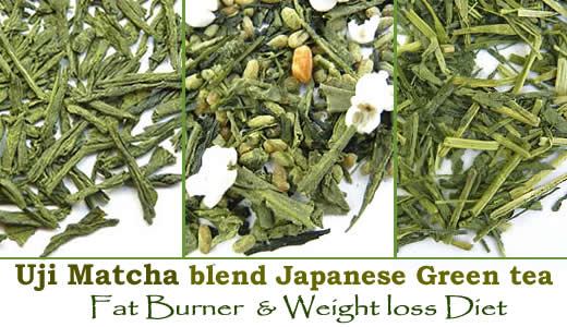Uji Matcha green tea powder fat burner diet